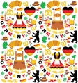 Oktoberfest Germany elements vector image