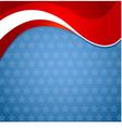 American patriotic background vector image vector image