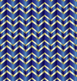 Chevron blue ribbon vector image