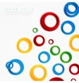 colorful circle vector image