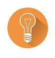 lamp symbol vector image