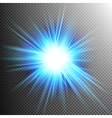 Light Effect Transparent Flare Lights EPS 10 vector image vector image