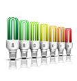 Eco bulbs vector image