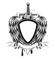 board sword wings vector image