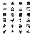 School and Education Icons 1 vector image