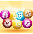 Lottery or bingo balls vector image