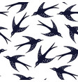 Swallow pattern vector image