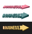 Arrows business vector image vector image