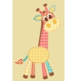 application giraffe vector image