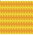 Wavy line yellow seamless pattern vector image vector image