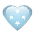 Micronesia flag vector image