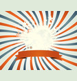 vintage fourth of july patchwork vector image