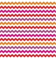 Chevron seamless colorful pattern or background vector image