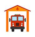 fire brigade vector image