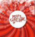 Merry Christmas Abstract Background Sunburst and vector image