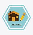 architect design vector image