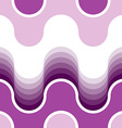 Seamless water wave pattern vector image