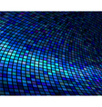 abstract lights blue disco background vector image