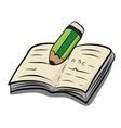Write a book VS vector image