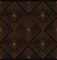 abstract oriental square ornament arabic vector image