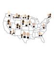 USA Election Concept vector image