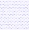 violet shamrock pattern seamless clover vector image