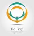 Original business icon vector image vector image