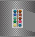 icon palette vector image