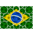 Brazil soccer balls vector image vector image