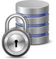 Protected database vector image