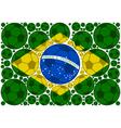 Brazil soccer balls vector image