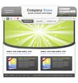 Web design elemets set vector image