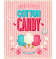 cotton candy vector image vector image