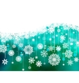 blue christmas background with copy space eps 8 vector image vector image