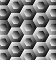 Optical with hexagon vector image