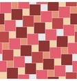 pastel red tiles seamless pattern vector image