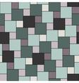 pastel green tiles seamless pattern vector image