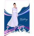 al 0339 wedding vector image