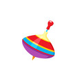 baby whirligig toy isolated vector image