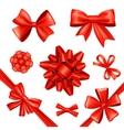 Gift Bows And Ribbons vector image