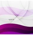 purple wave design vector image vector image