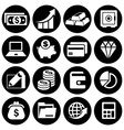 Infographic money set vector image
