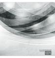 Abstract dark shape design concept vector image vector image
