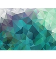 abstract polygon background vector image vector image