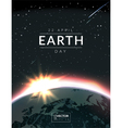 Earth day vector image