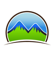 Mountain Seal vector image