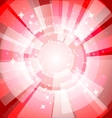 Bright background with rays3 vector image