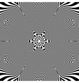 Abstract Striped Background Black and White vector image vector image
