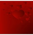 Valentines Day abstract background EPS10 vector image