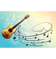 A musical instrument vector image